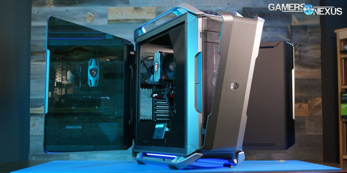 Cooler Master Cosmos C700P Review: Thermals, Noise, & Build