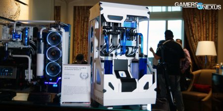 Artful Case Mods At Thermaltake S Ces Suite And New W