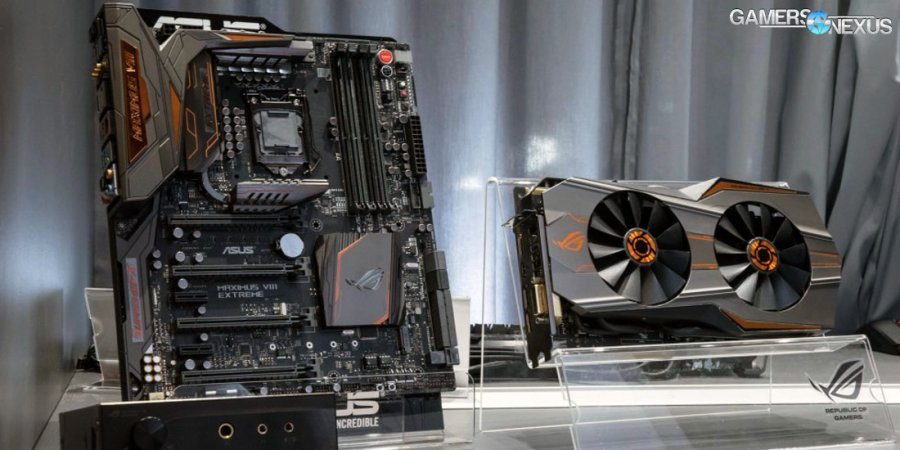 ASUS ROG Maximus VIII Extreme Assembly & GTX 980 Ti Platinum at IFA