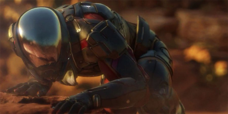'Mass Effect 4' Andromeda Gameplay Leak Shows Verticality on Frostbite Engine