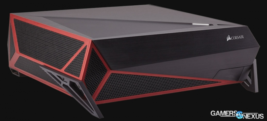 "Corsair Announces ""Bulldog"" Barebones HTPC Kit for 4K Gaming"