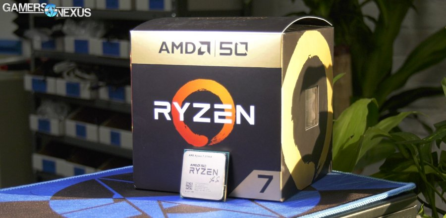 AMD R7 2700X Gold Edition Overclocking Headroom & Mini Review