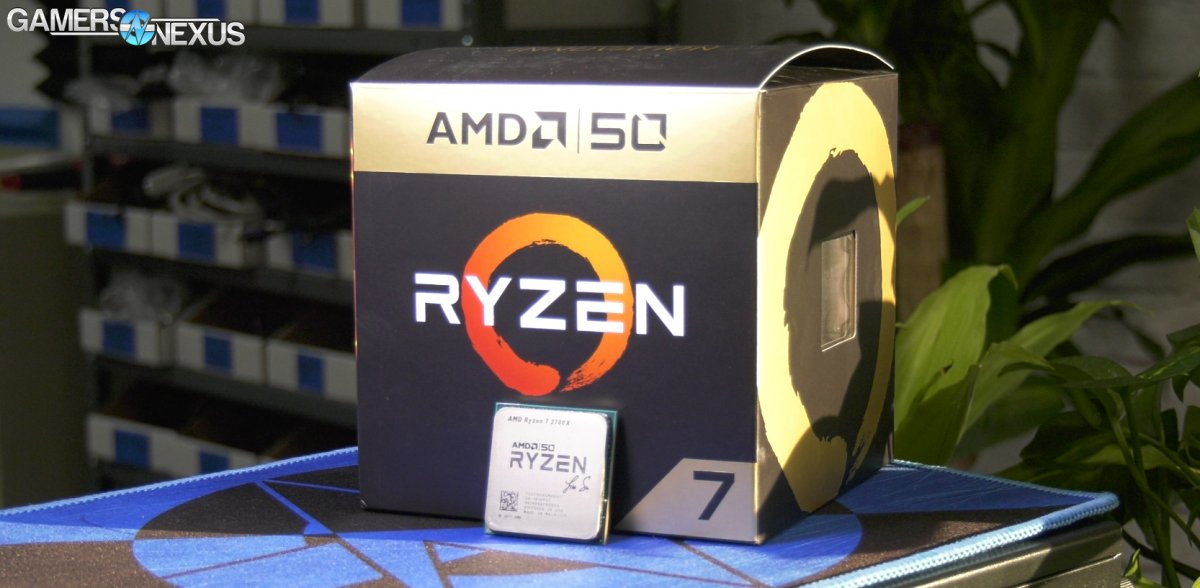AMD R7 2700X Gold Edition Overclocking Headroom & Mini