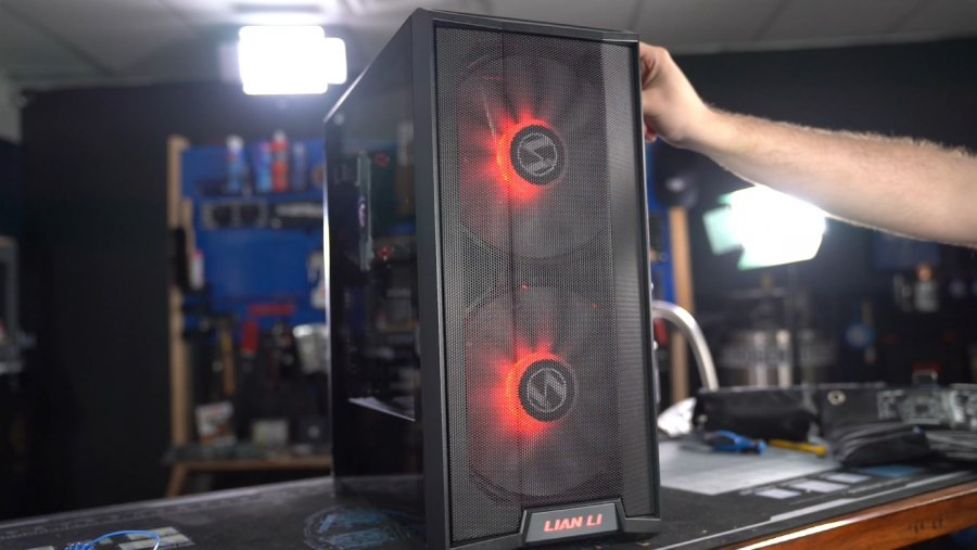 Lian Li Lancool 215 Airflow Case Review & Benchmarks: Not Quite 200mm Fans
