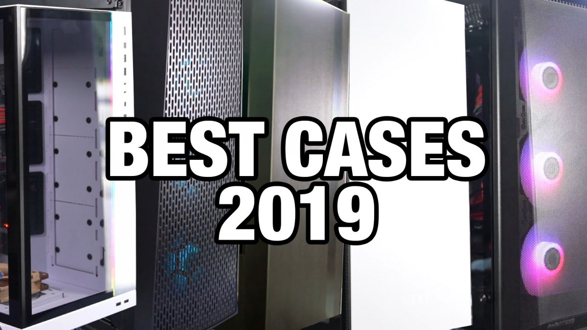 GN Awards Show: Best & Worst PC Cases of 2019 (Thermals, Quality, Noise)