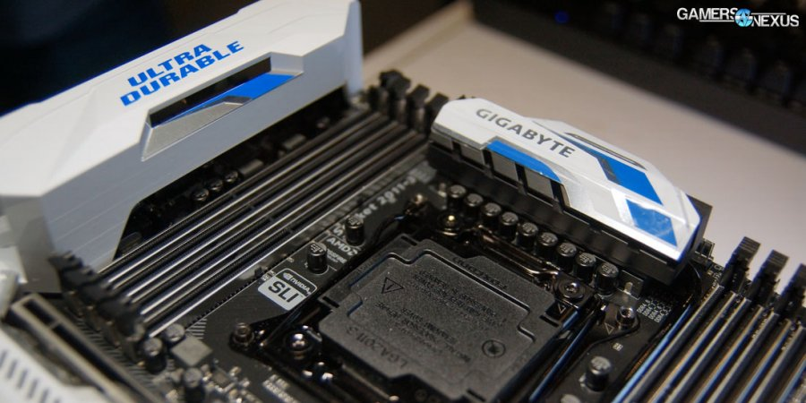 Unreleased Gigabyte Motherboards at PAX East - Broadwell-E Incoming