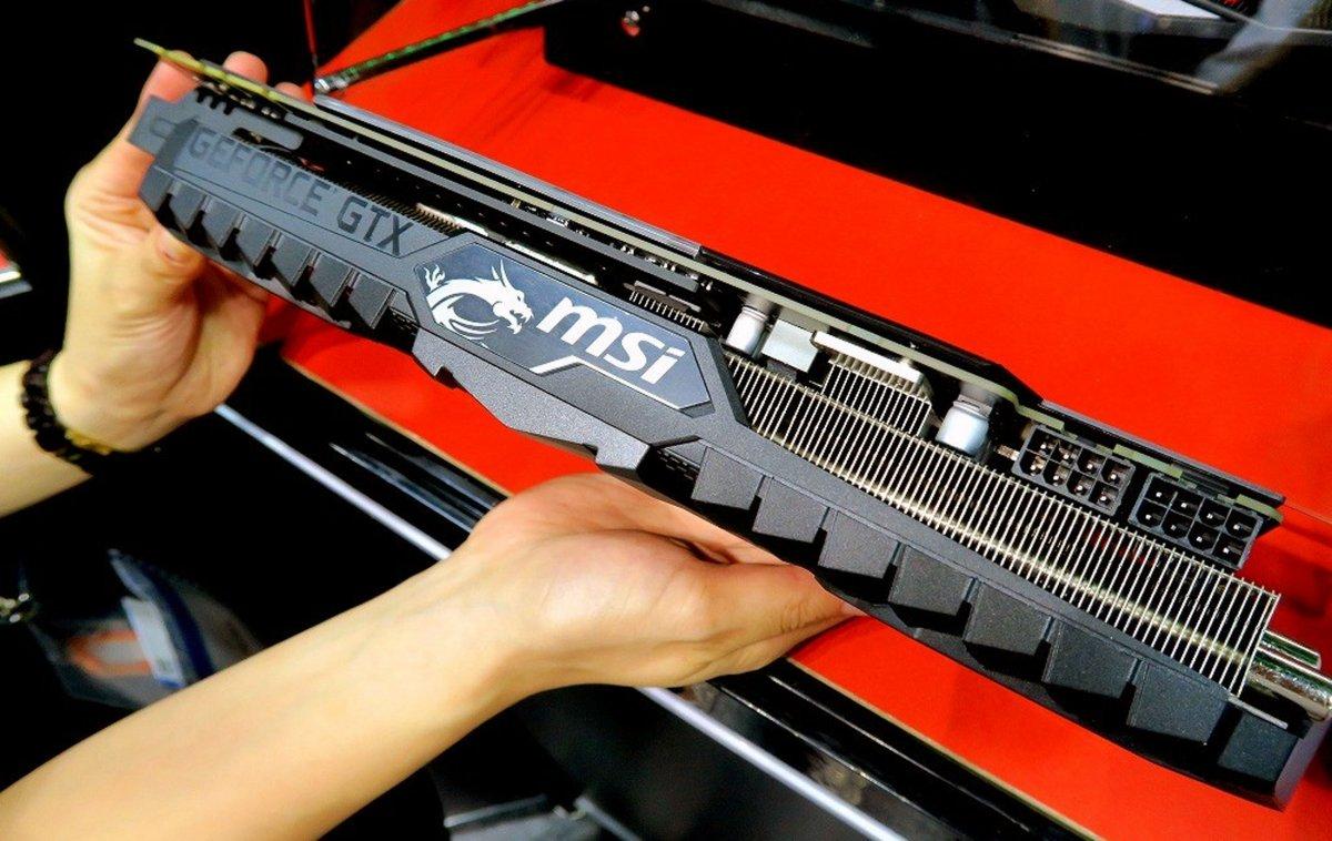 MSI GTX 1080 Ti Gaming X Trio Shown | GamersNexus - Gaming PC Builds